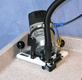 Betterley Coving Router AG210D W/Air Glide Base & Dust Extraction